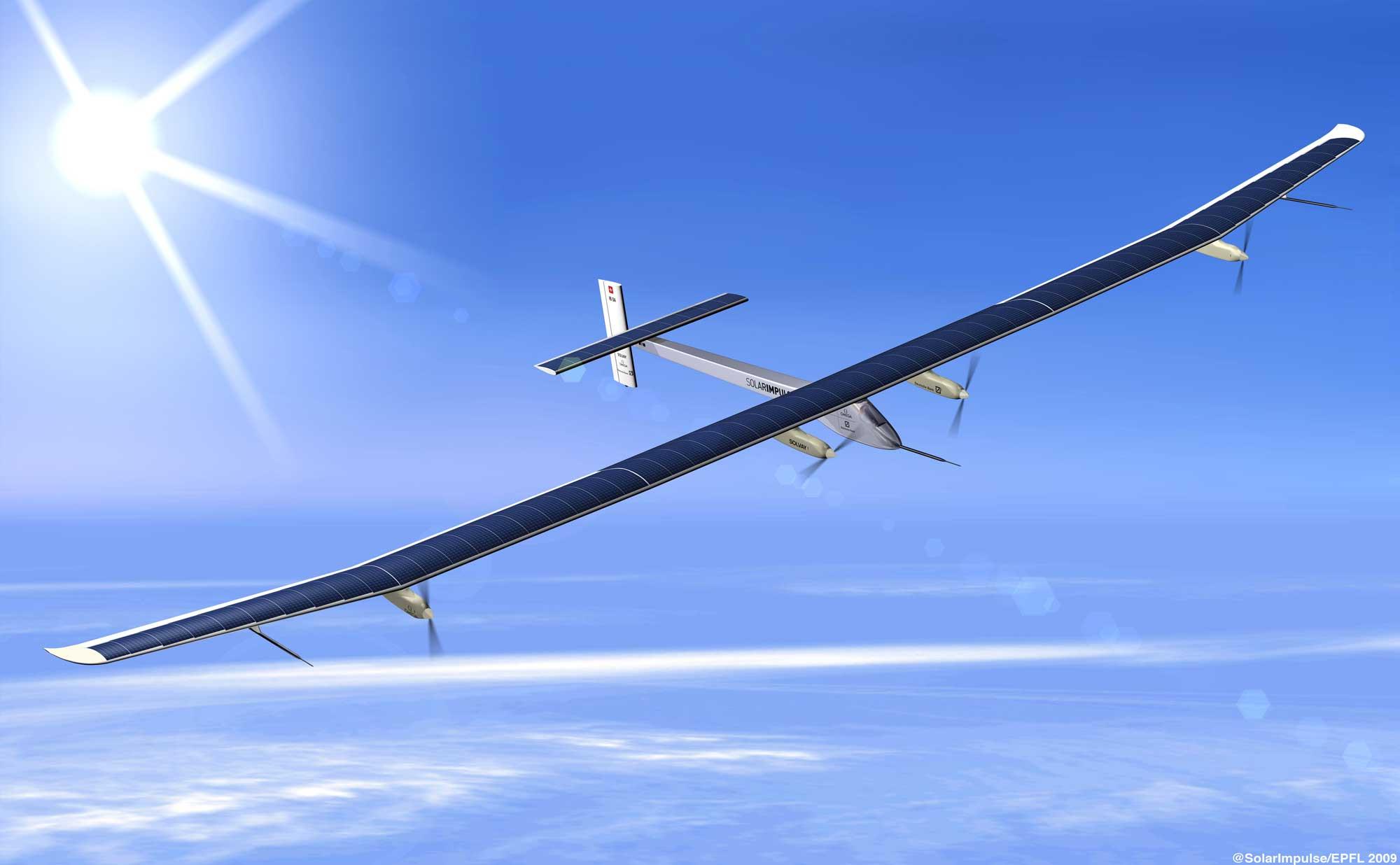 Fliegen mit Licht – Die physikalischen und technischen Herausforderungen von Bertrand Piccards Solarimpulse