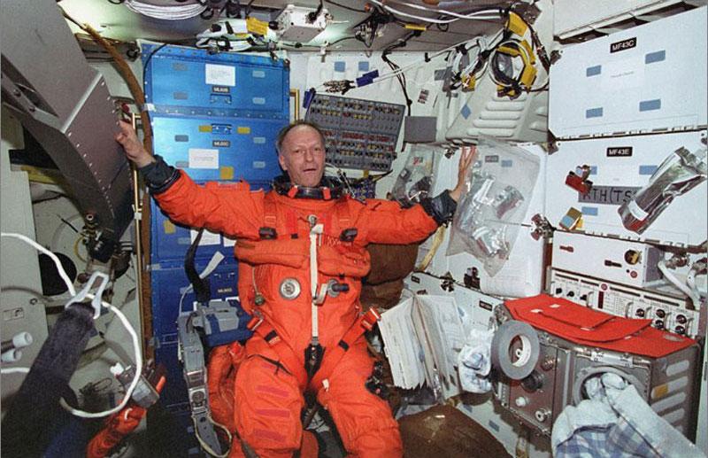 Eindrücke meiner Weltraumreisen