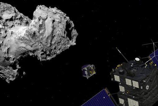 Reise zum Kometen Tschury
