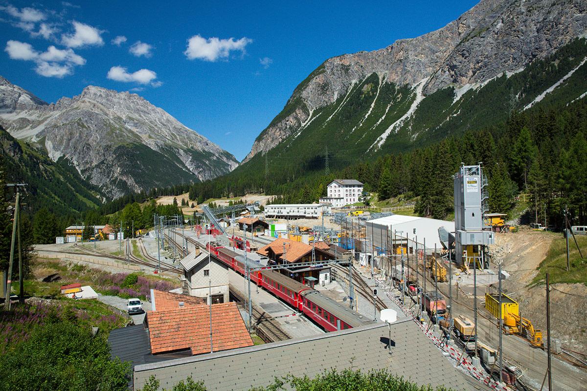 Der neue Albulatunnel