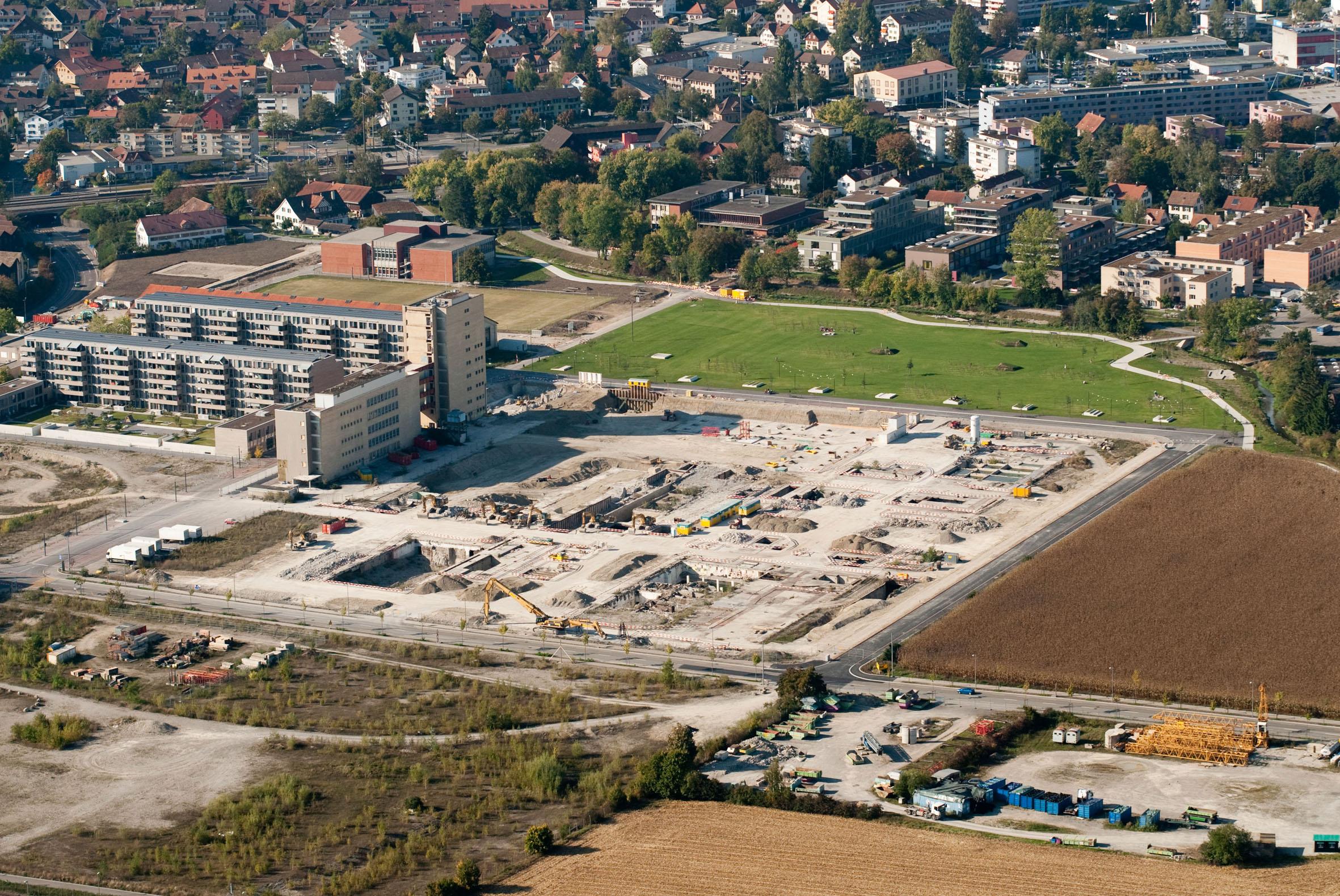 Eine Stadt entsteht: Das neue Winterthur in Neuhegi