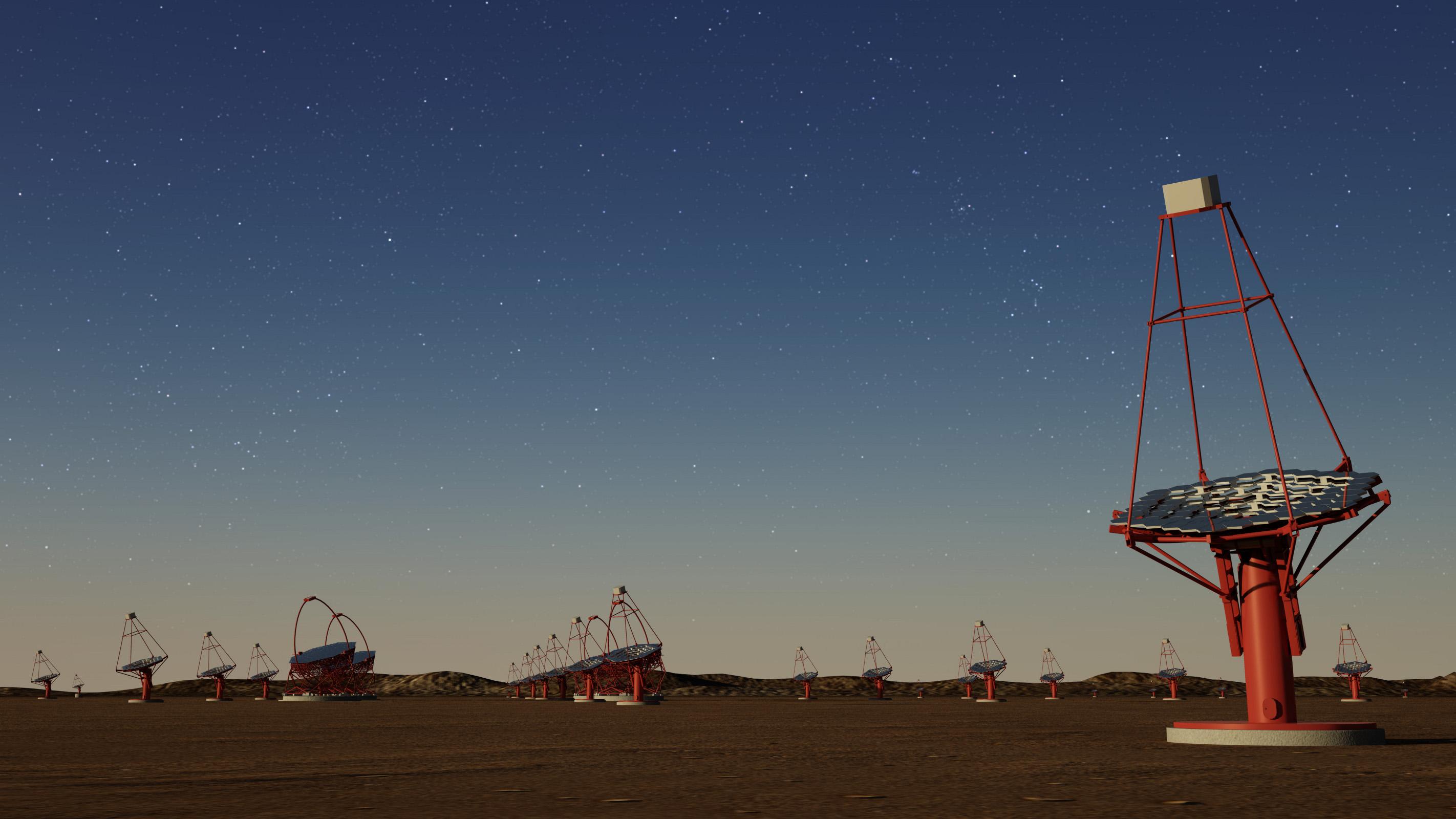 Der Cherenkov-Teleskop-Array – ein neuer Blick ins All