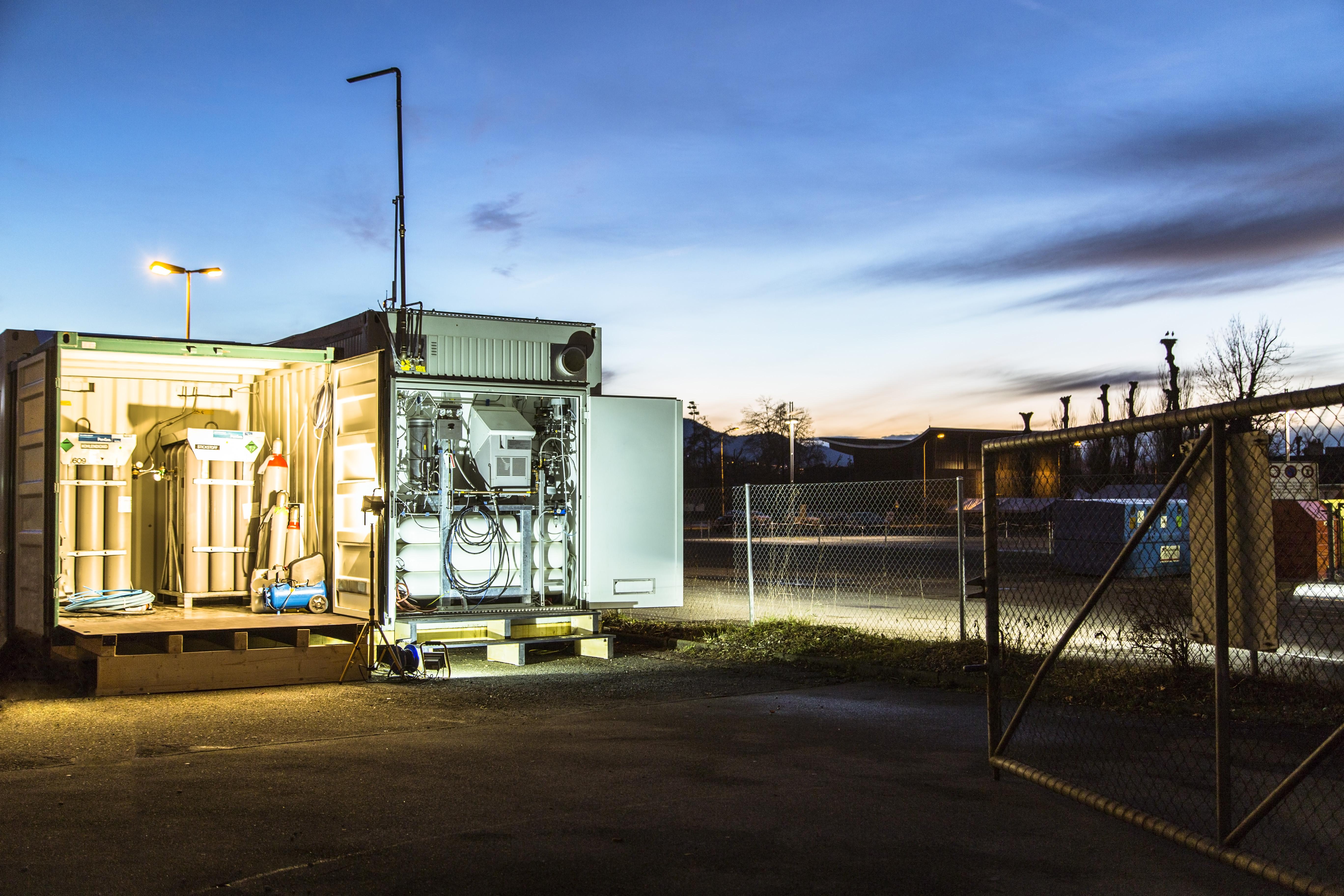 Speicherung von erneuerbarer Energie mit «Power to Gas»